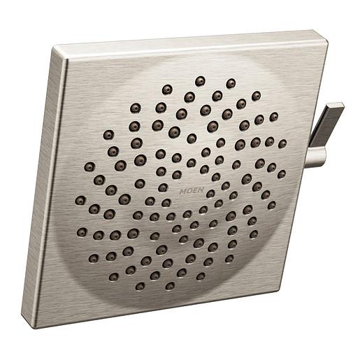 """S6345BN - Moen Brushed Nickel Two-Function 8 1/2"""" Diameter Spray Head Rainshower"""