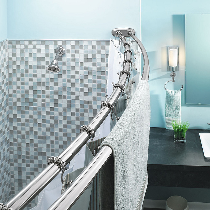 Doubling Down on Shower Curtain Rods Slider 1