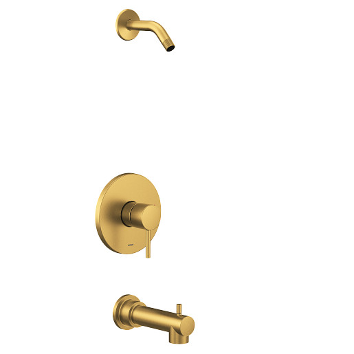 Align Brushed Gold M-CORE 2-Series Tub/Shower - No Head