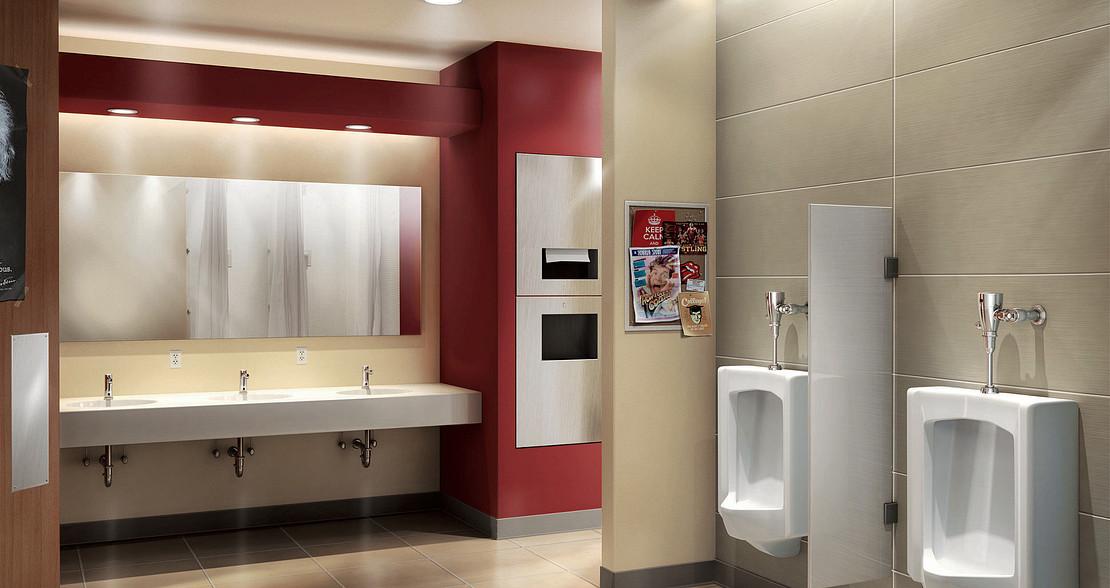 Moen Commercial Lavatory Faucets & Flush Valves