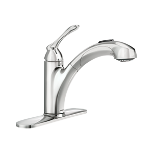 Banbury Chrome One-Handle Pullout Kitchen Faucet