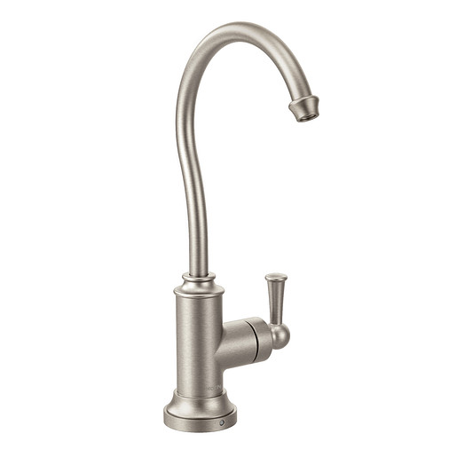 Sip Traditional Spot resist stainless One-Handle High Arc Beverage Faucet