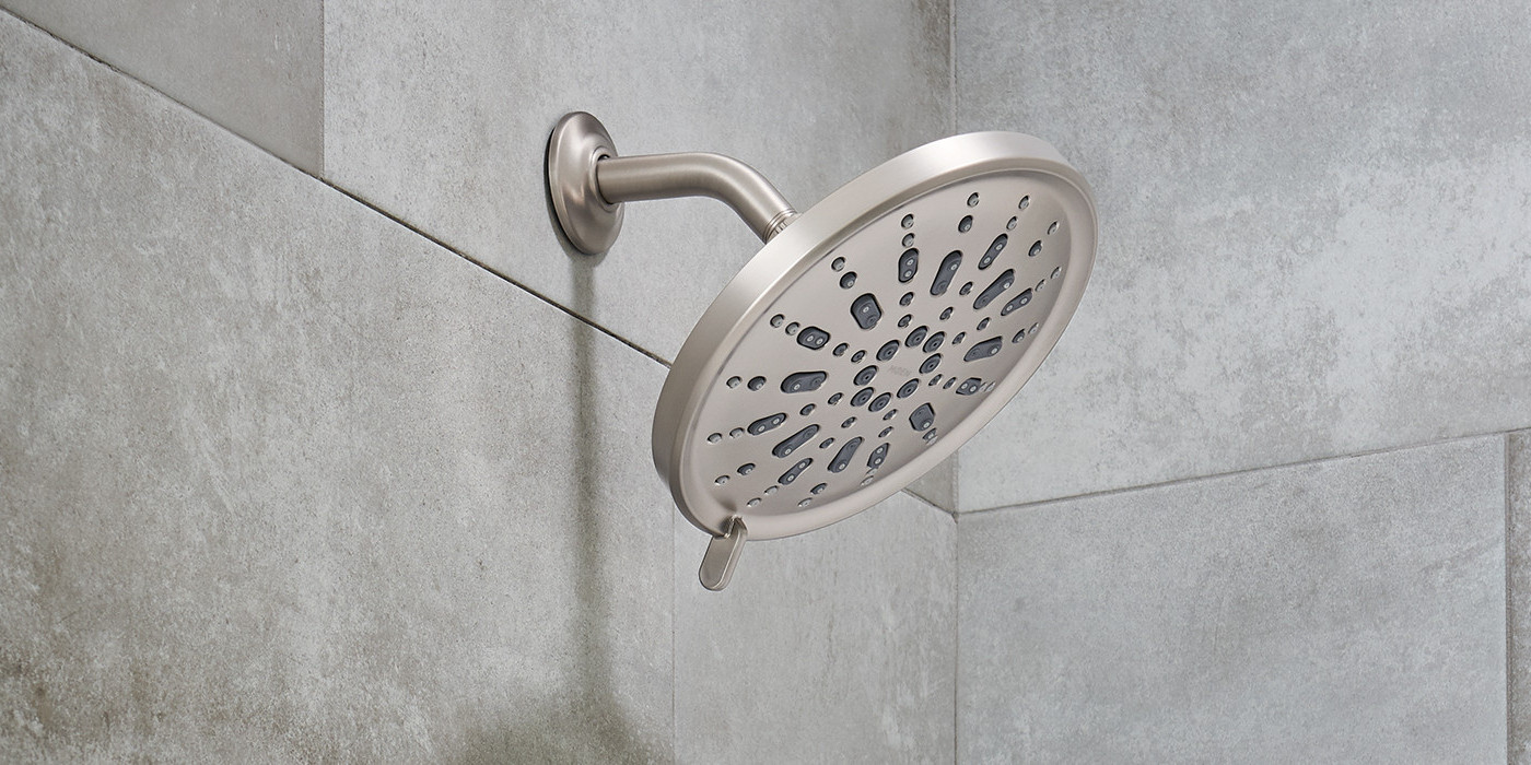 Spot Resist Brushed Nickel Showerhead