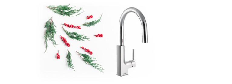 Hands-free convenience STo MotionSense Kitchen Faucet S72308EC