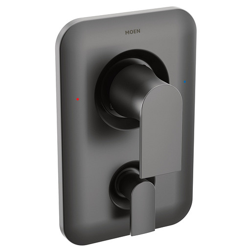 Genta LX Matte Black Posi-Temp® with Diverter Tub/Shower Valve Only