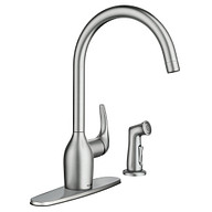 Essie Spot resist stainless One-Handle High Arc Kitchen Faucet