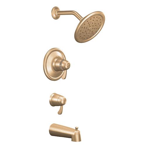 Moen Brushed bronze ExactTemp® tub/shower