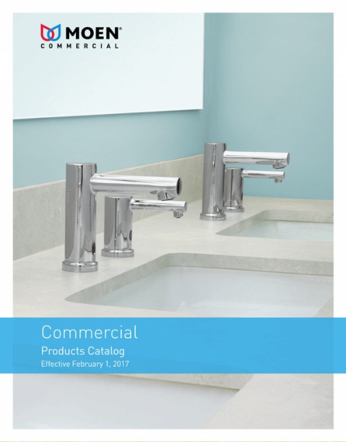 Moen Commercial Products Catalog 2017