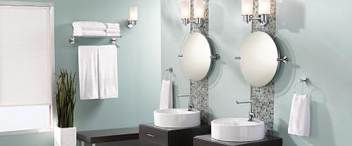 Modern Bathroom Hardware Roomshot
