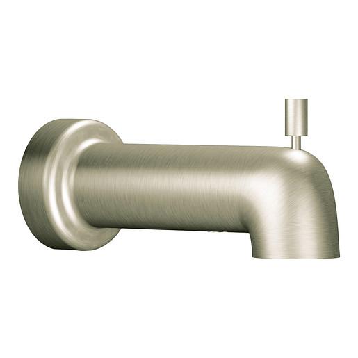 Level Brushed nickel Diverter Spout