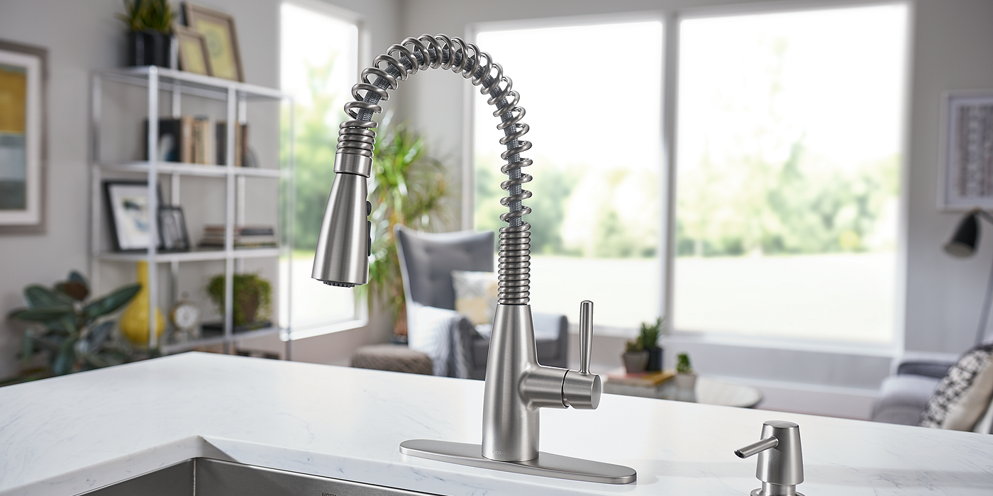 Springvale™ Pulldown Kitchen Faucet In Spot Resist Stainless 87998SRS