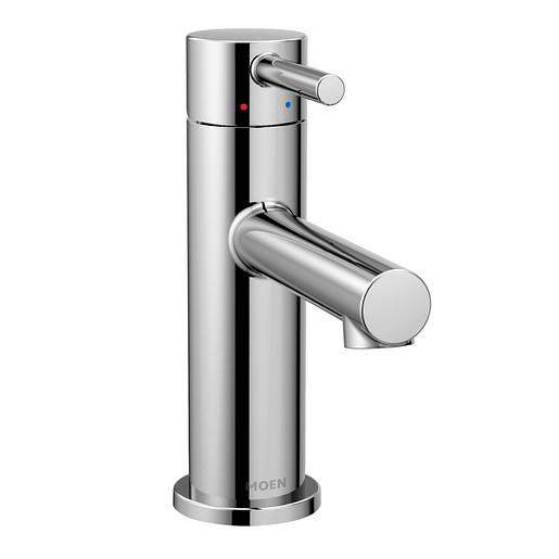Align Chrome One-Handle High Arc Bathroom Faucet