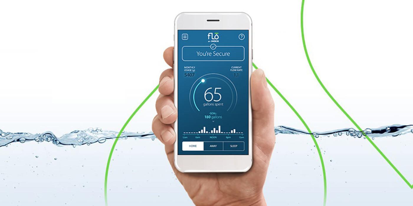 FLO by Moen Home Leak Detection Smart Technology App