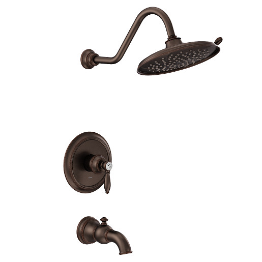 Weymouth Oil Rubbed Bronze M-CORE 2-Series Tub/Shower