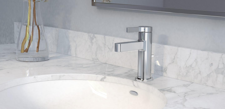 Vichy Chrome One Handle Bathroom Faucet