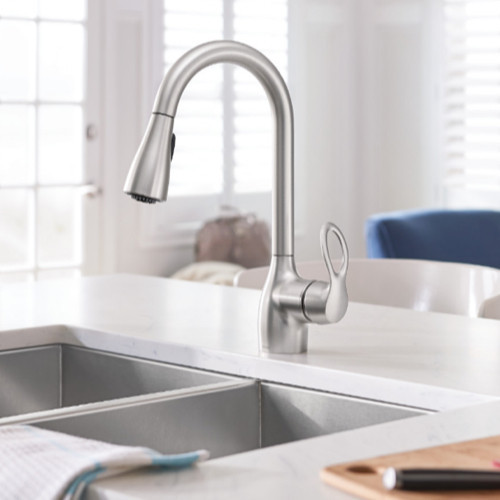 One Hole Kitchen Faucets