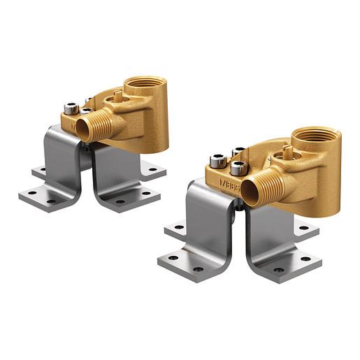 Moen Double Floor Mount Tub Filler Concrete Mounting System