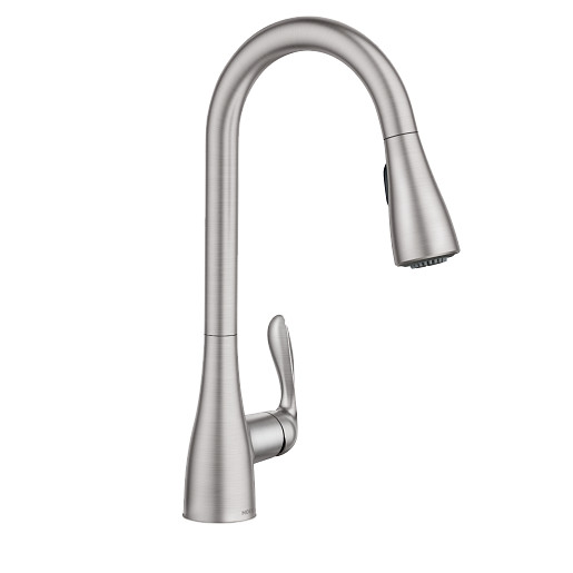 Georgene Spot Resist Stainless Kitchen Faucet
