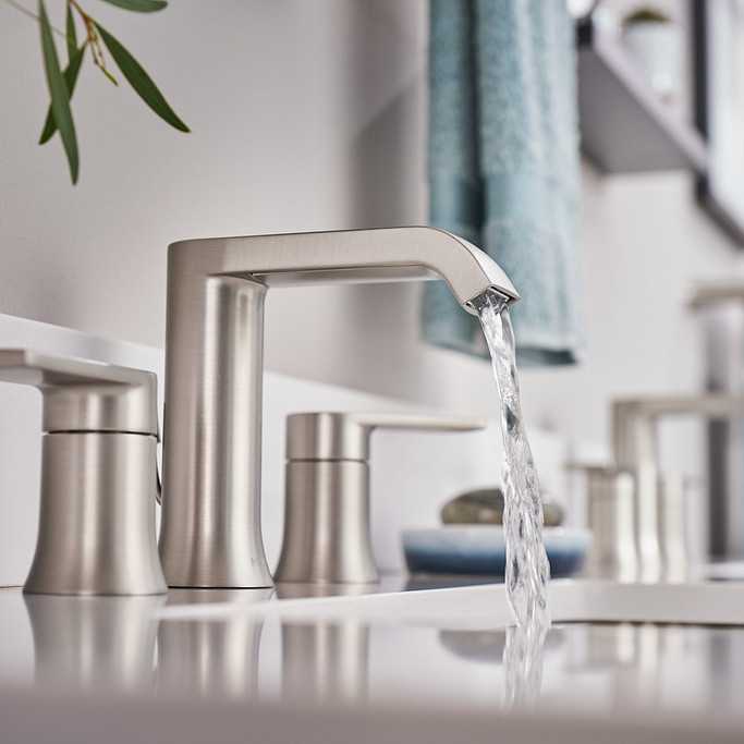 Genta bathroom sink faucet