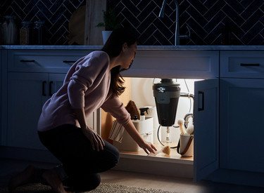Motion Activated Lighted Garbage Disposal
