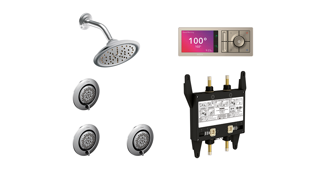 Shower Layout Configuration Option 3