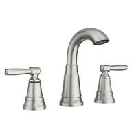 Halle Spot Resist Brushed Nickel Bathroom Faucet