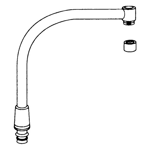 Commercial High Arch Spout For 8940, 8796 and 8799