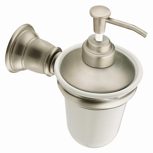 Kingsley Brushed nickel soap/lotion dispensers
