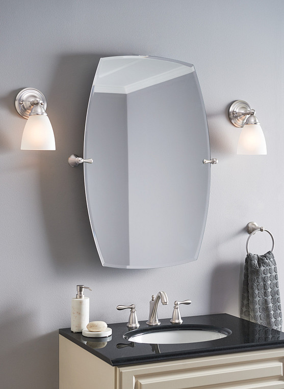 Bath Mirror Accent Pieces