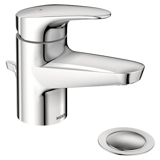 Commercial Chrome one-handle lavatory faucet