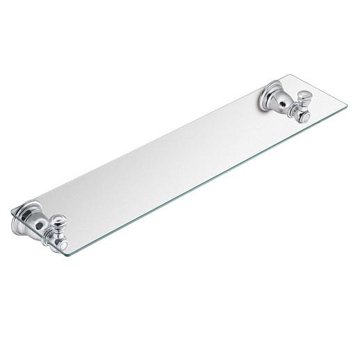 Kingsley Chrome Vanity Shelf