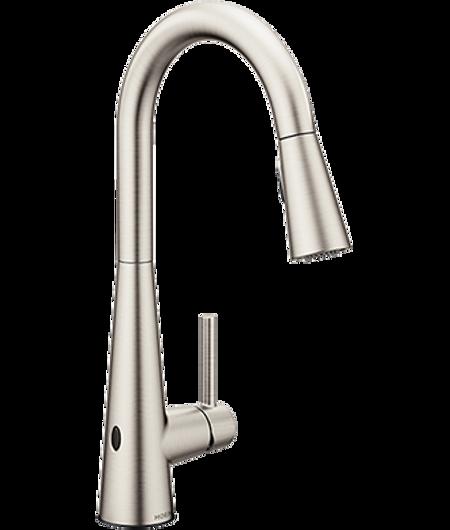 Moen 7864EWSRS MotionSense Wave Spot Resist Stainless Kitchen Faucet