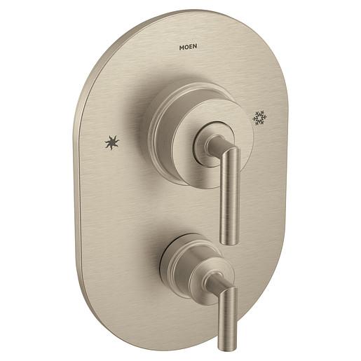 Arris Brushed nickel Posi-Temp® with diverter valve trim