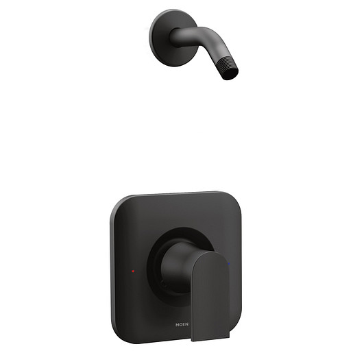 Genta LX Matte Black Posi-Temp® Shower Only - No Head
