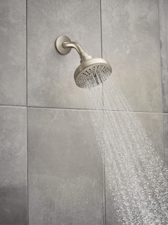 Hydro Energetix Fixed Showerhead Spot Resist Brushed Nickel