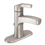 Danika Spot Resist Brushed Nickel One-Handle High Arc Bathroom Faucet