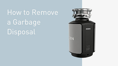 How to Remove a Garbage Disposal Video