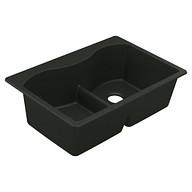 Granite Series Granite granite double bowl dual mount sink