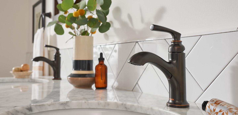Hilliard Mediterranean Bronze Bath Faucet