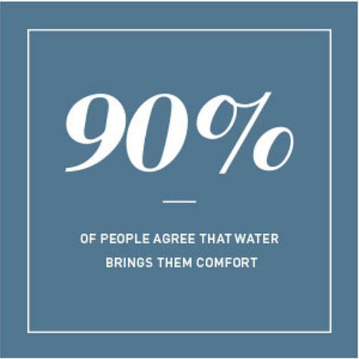 Water brings Comfort