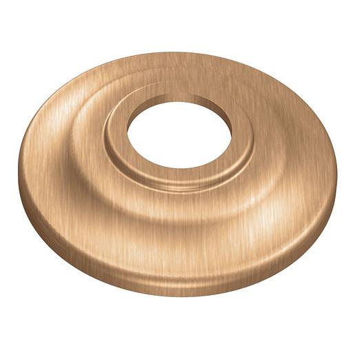 """Moen Brushed Bronze Shower Arm Flange (2.5""""L X 2.5""""W X .5""""H)"""
