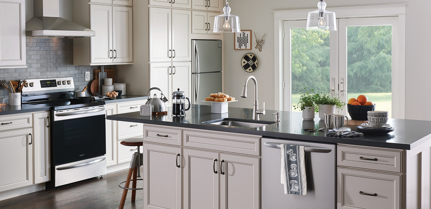 Consider interior cabinets as pull-out drawers
