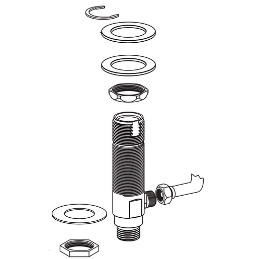 Commercial Hardware Pack, 8889 Metering Faucet