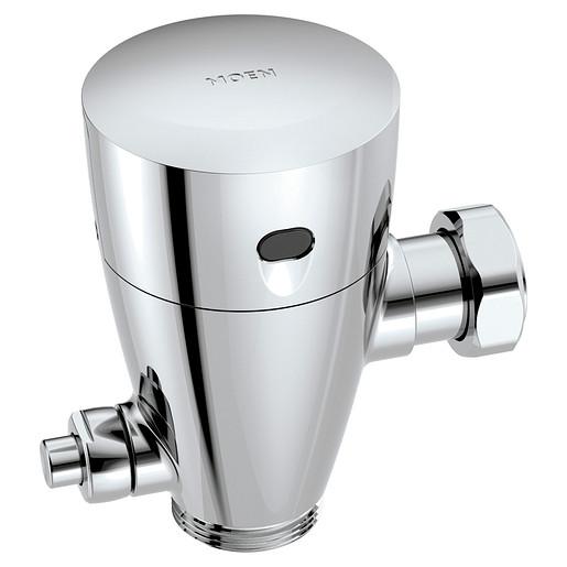 "M-POWER Chrome electronic flush valve 1 1/2"" water closet retro fit"