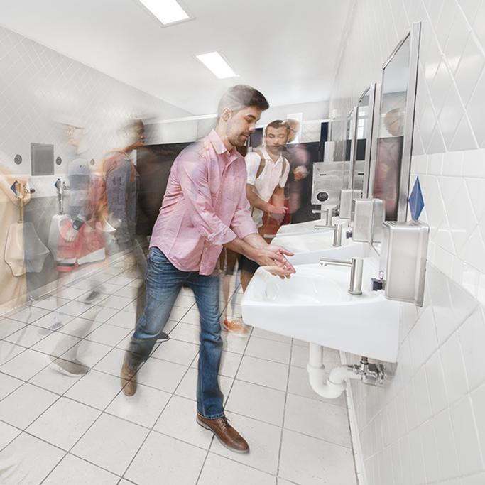 Commercial Mens Restroom