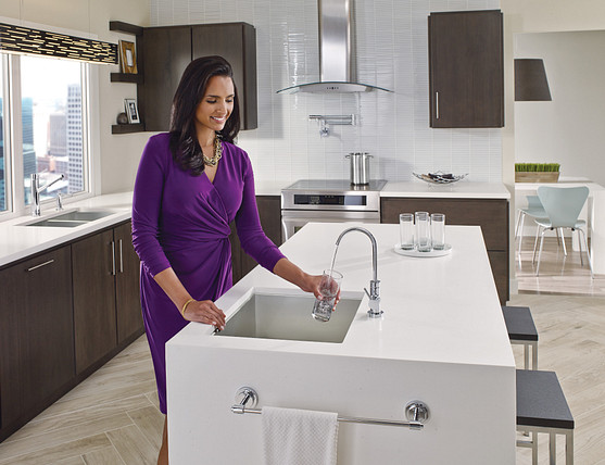 Kitchen Water Filter Faucet