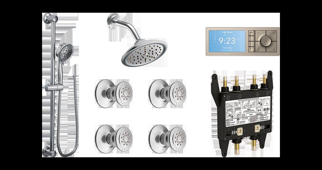 Shower Layout Configuration Option 2