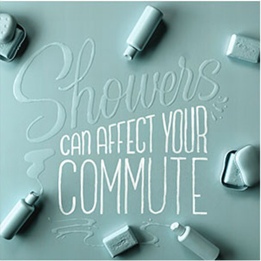 Showers can affect your commute
