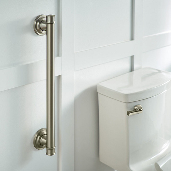 Install a grab bar for safety
