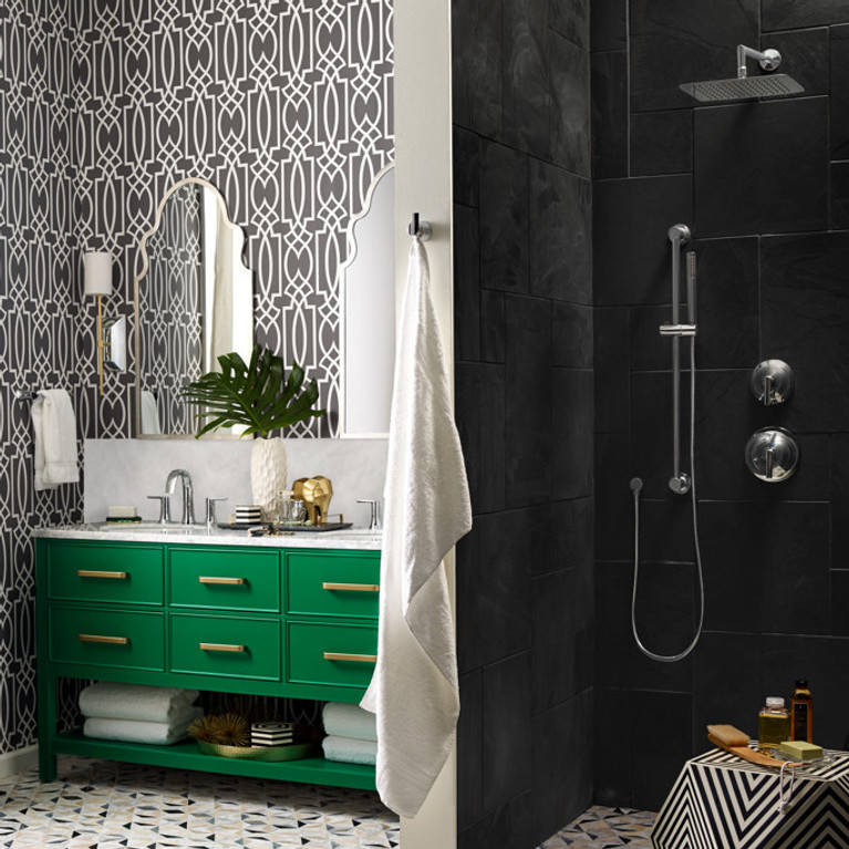 Doux Bathroom Faucet and Accessories